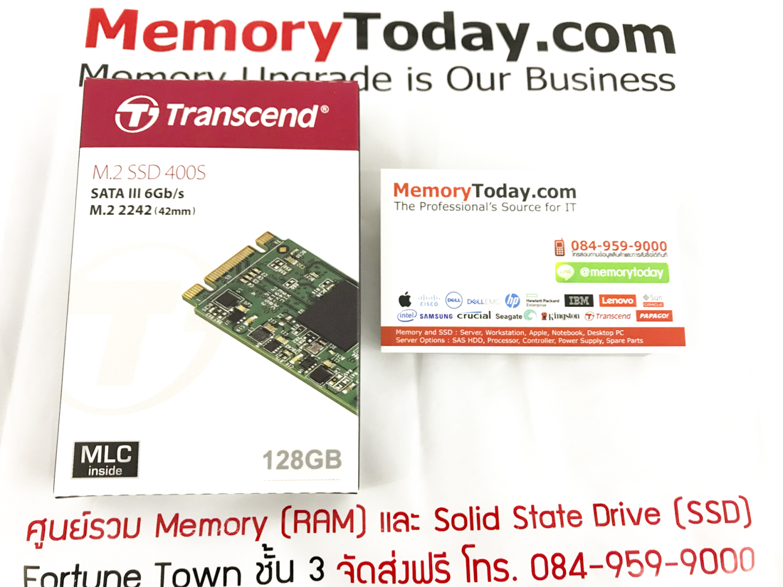M 2 2242mm 128GB Transcend MTS400 SSD | นครปฐม MemoryToday com